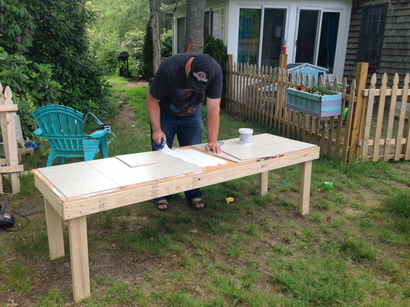 Building a raised base for rabbit hutch