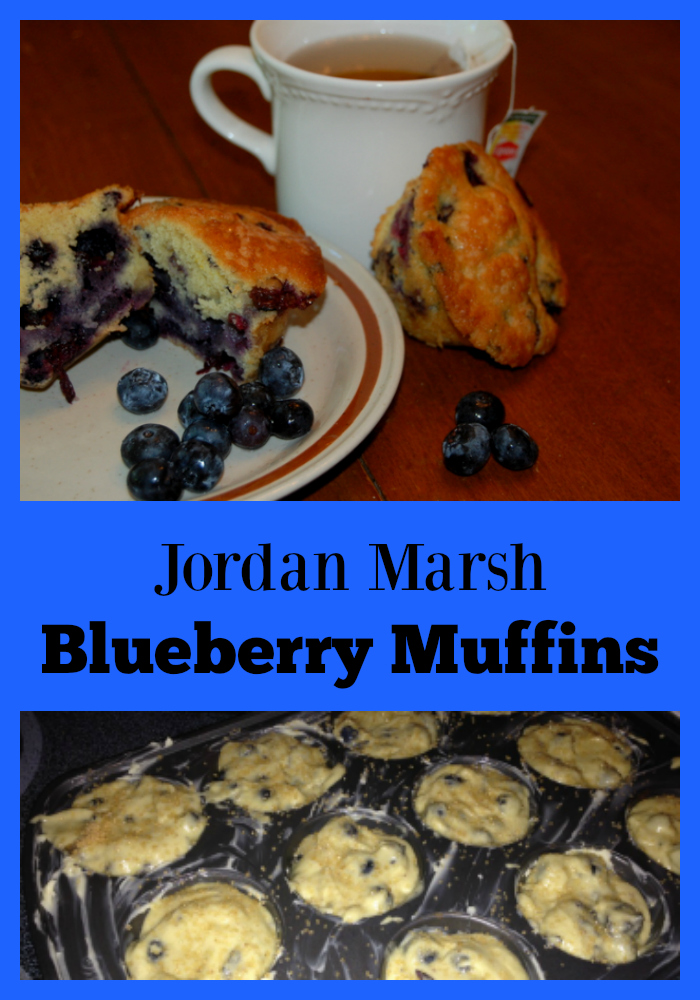 A New England Tradition! Even if you don't remember the delicious muffins from Jordan Marsh, you will LOVE this recipe!