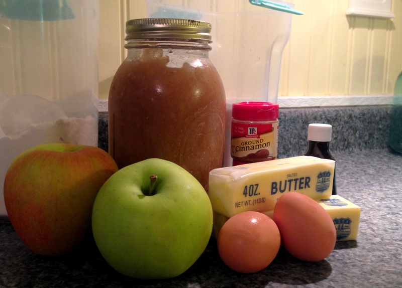Apple Spice Strudel Muffins