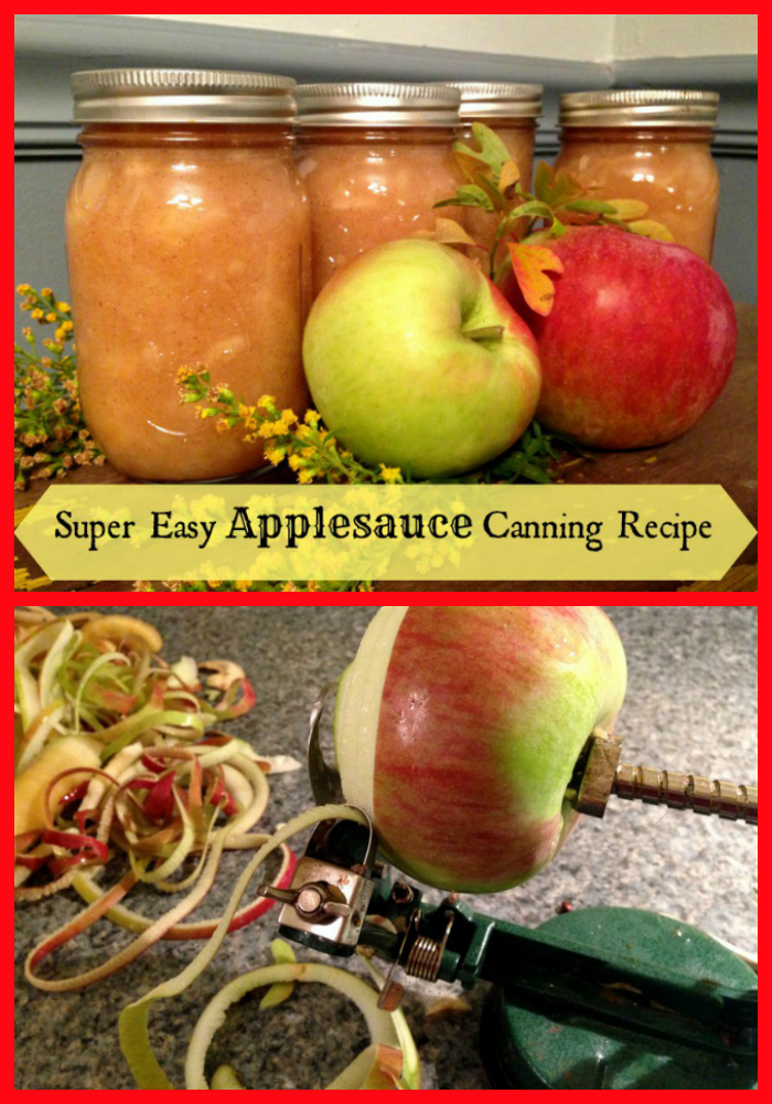 Can up some delicious fresh applesauce to enjoy all winter!