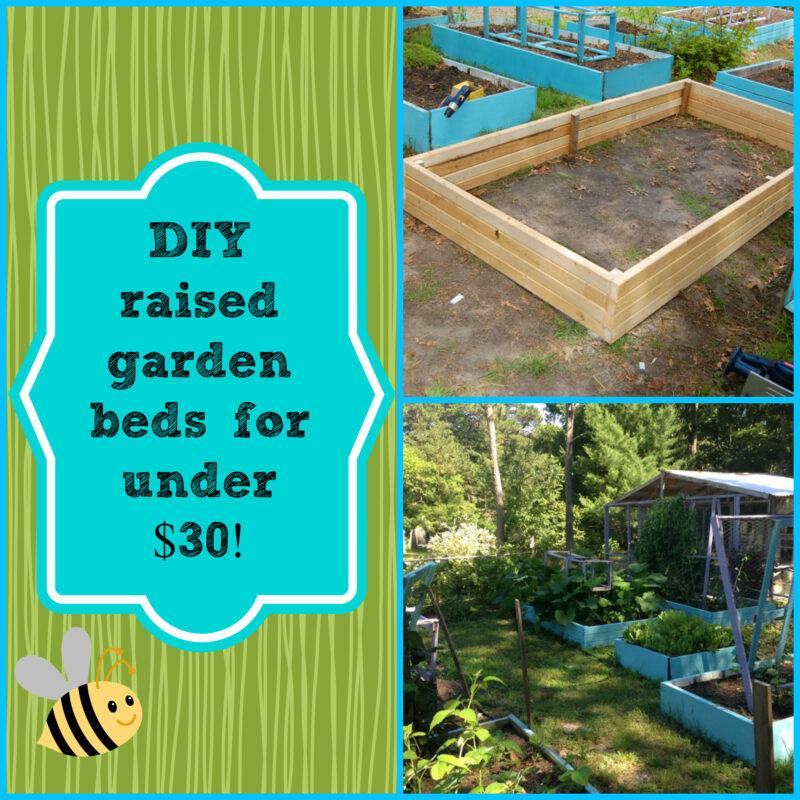 Diy Super Easy Raised Garden Bed For Under 30