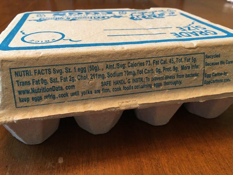Vintage Egg Cartons