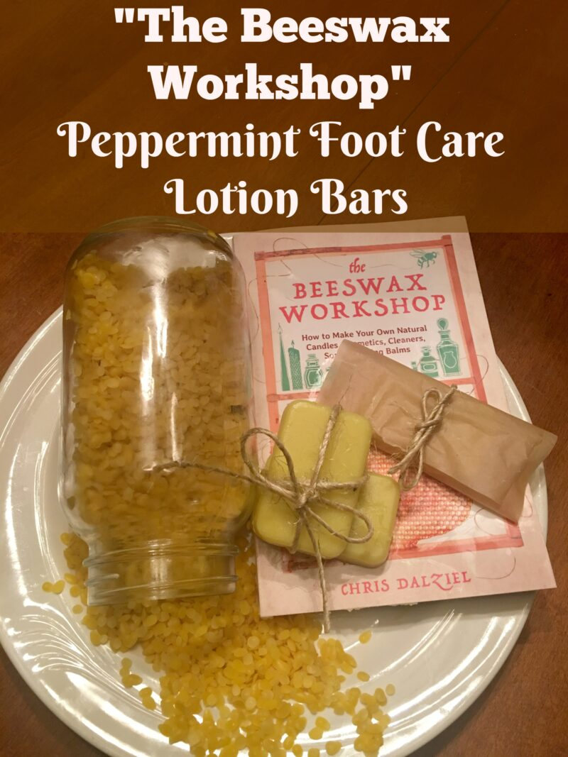 Peppermint Foot Care Lotion Bars