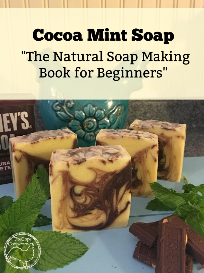 Cocoa Mint Soap Recipe & The Natural